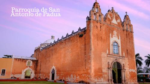 parroquia de San Antonio de Padua Ticul