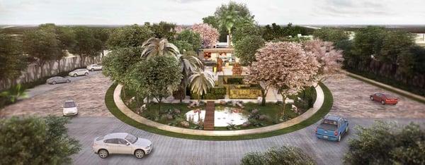 vivir en una privada en Mérida